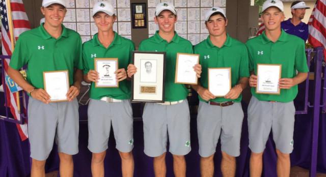 Dragon Varsity Boys Golf finish 3rd to start the season