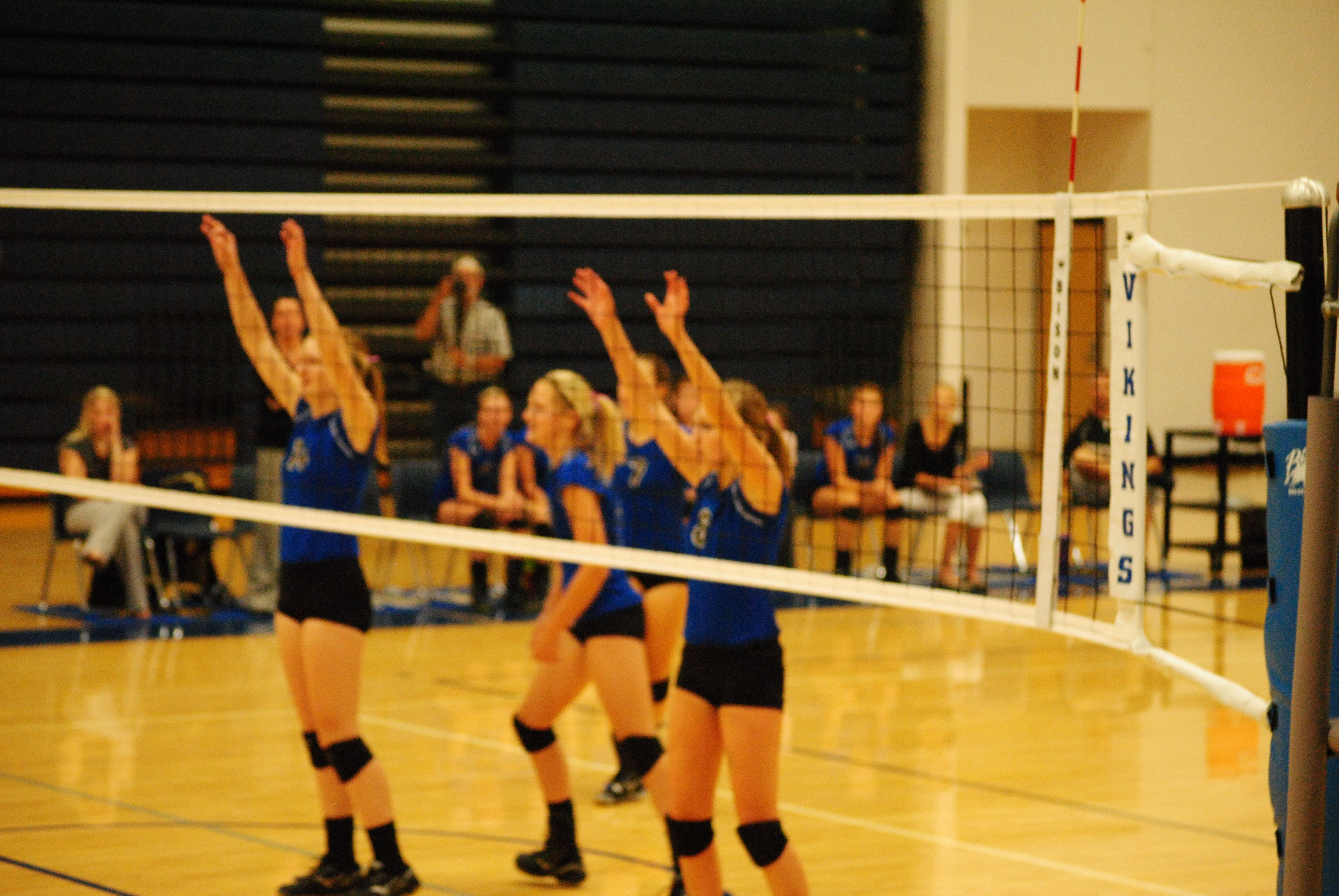 Schwartz Leads Vikings with 15 Kills