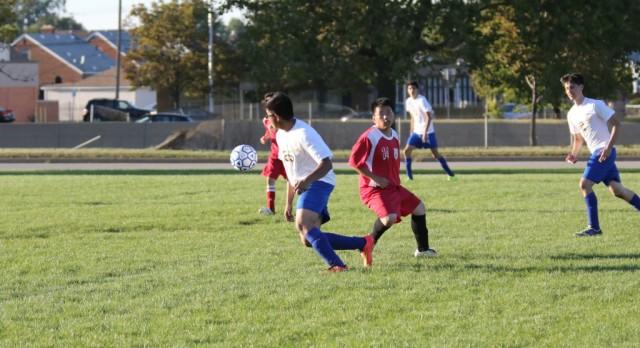 Soccer Team Falls