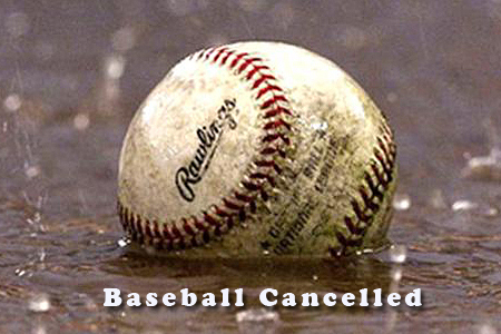 Game cancelled!!!!