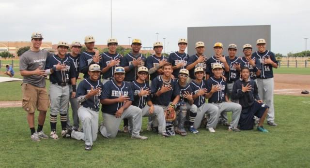 Gameday: Hidalgo Baseball Regional Championship versus El Campo.