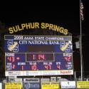 VS. Sulpher Springs