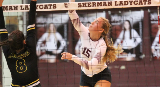 Volleyball Program Sweeps Denison At Home