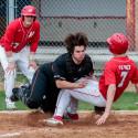 Varsity Baseball against Westville