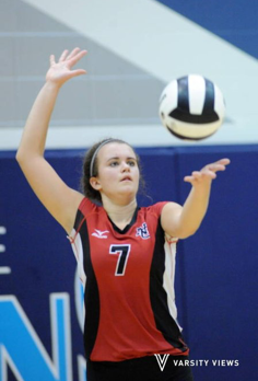 NC Defeats Perry Meridian in Five Sets