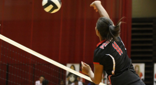 North Central High School Girls Varsity Volleyball beat Tindley 3-0