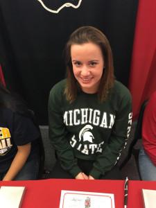 Kaitlyn McPherson Swimming Michigan State