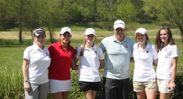 Girls Golf takes 2nd in Region