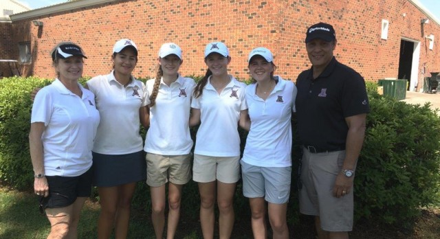 Women's Golf 2nd in State
