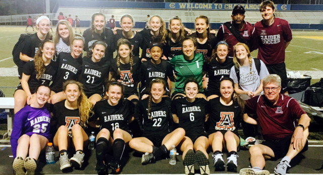Varsity Girls Soccer Beats Chattahoochee 2-0