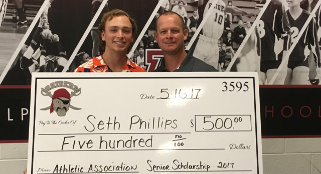 Athletics Association Honors Seth Phillips