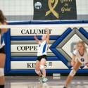 Calumet JV Volleyball vs Houghton, 10/21/2014