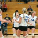 Calumet JV volleyball vs Lake Linden-Hubbell, 10/23/2014