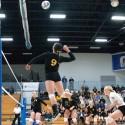 "Varsity volleyball vs Lanse, ""Glitter in Gold"" night, 10/16/2014"