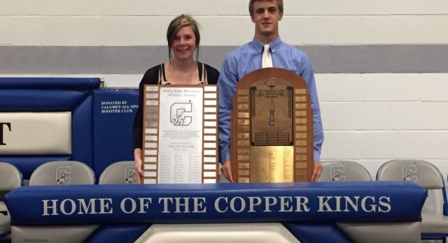 Rowe and Fredrickson Win Athletic Honors