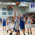 Girls varsity basketball vs Ishpeming, 12/22/2015