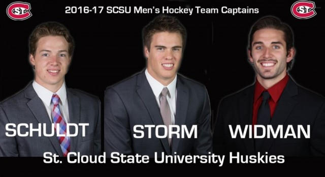 Ben Storm Named Team Captain at St. Cloud