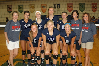 Calumet Represented at Volleyball All-Star Matches