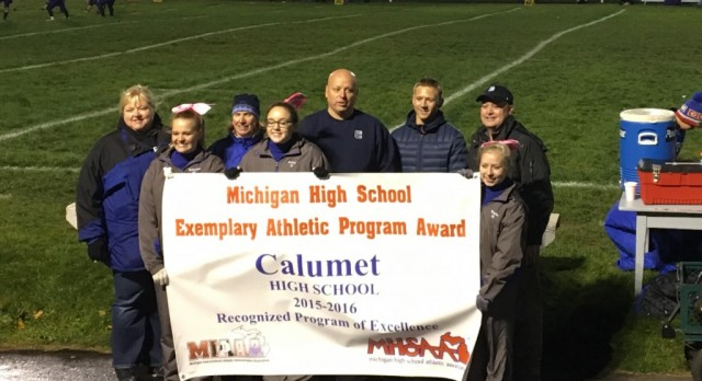 "Calumet Athletics Earns ""Exemplary"" Status"