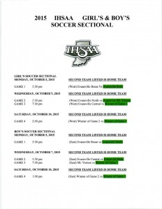 soccer sectional