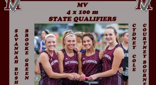 4 x 100 m Relay is State Bound!