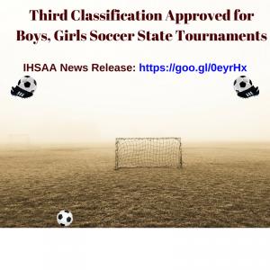 IHSAA News Release-Soccer