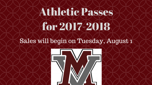 Athletic Pass Sales for 2017-2018