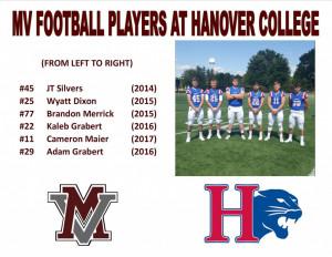 MV Graduates at Hanover