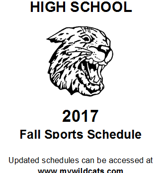 Mt. Vernon Fall Sports Schedule