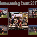 2017 Homecoming Court
