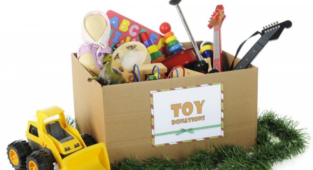 Info – Toy Drive Game on 12/20