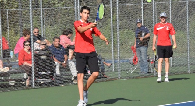 singles in north judson Gardner earned a three-set win at 1 singles for the trojans tuesday (file photo  by james costello) triton 4, north judson 1.