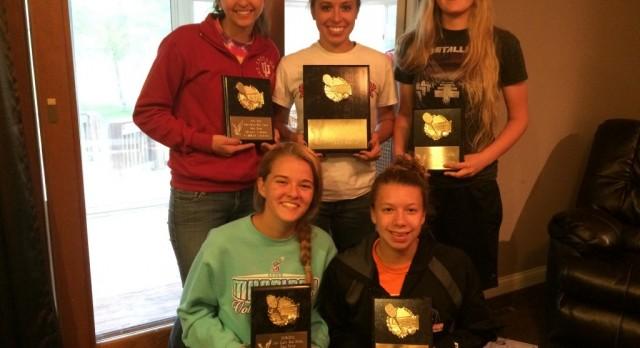 Girl's Tennis Award Winners
