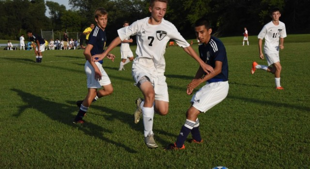 Boy's Soccer Lose at Home to Elkhart Central