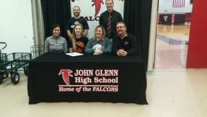 Olivia Rice Signing 2