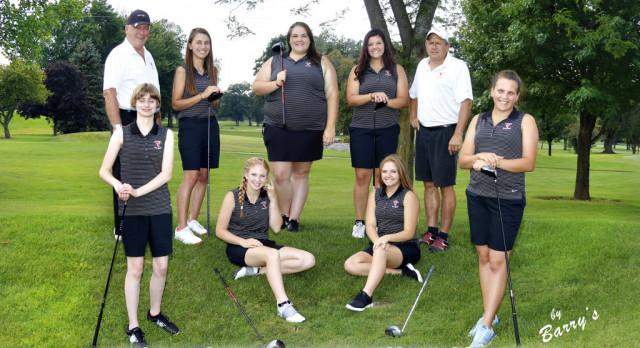 Girls Golf Splits in 3-Way with LaPorte/Wheeler