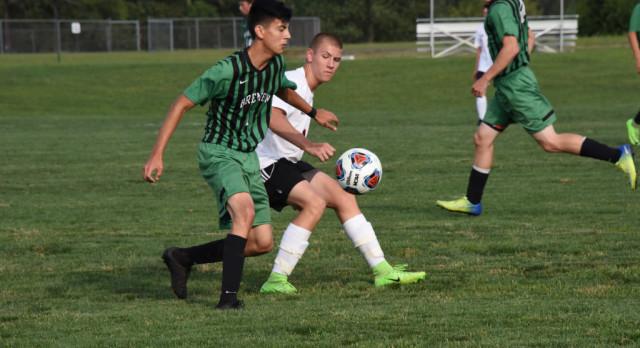 Boys Soccer Lose to Washington