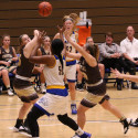 Lady Knights Basketball courtesy of Tami Hardebeck
