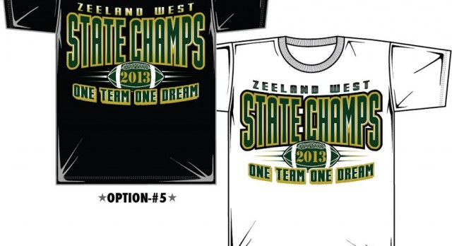 STATE CHAMPION SHIRTS ARE IN!