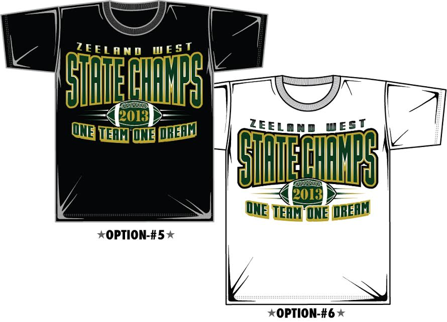 Sports Champions T Shirt Designs