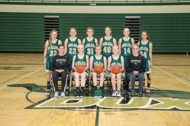 Girls JV Basketball