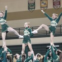 Competitive Cheer OK Green/OK Gold Jamboree Photos- 1/14/15