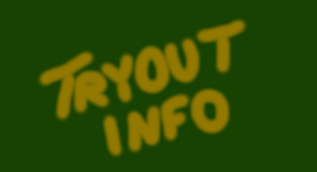 High School & Middle School Sports Tryout/First Practice Info