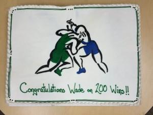200 Wins Cake