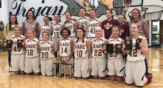 DMS Lady Wolverines Win NGAC