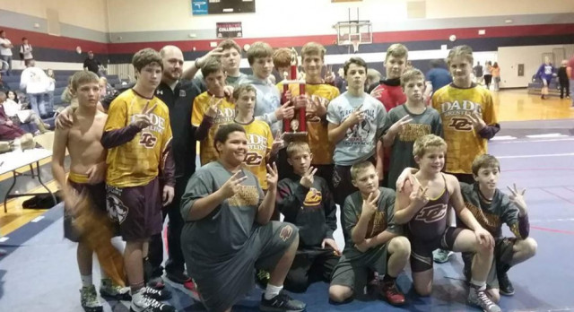 Wolverines Finish 2nd @ Heritage Duals