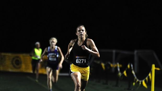 Saturday Night Lights a Smashing Success for Centerville Lady Elks Cross Country