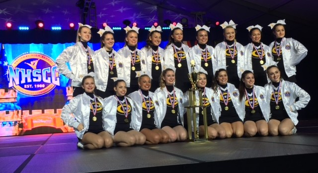 Competition Cheer Wins National Championship