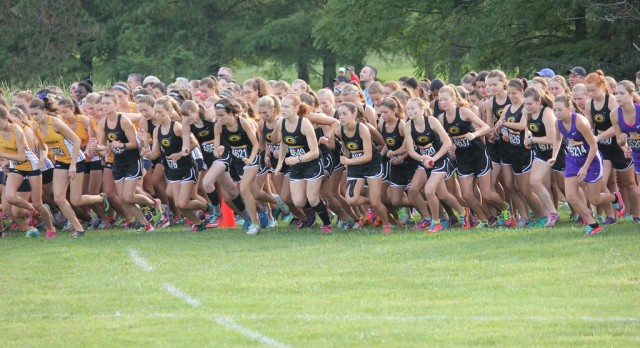CENTERVILLE GIRLS CROSS COUNTRY FINISH WITH FORCE AT THE FINISHTIMING XC CLASSIC