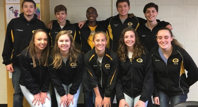 Boys Divers Perform Great at Coaches Classic
